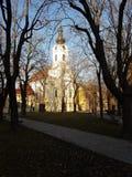教会在克罗地亚温科夫齐 库存图片