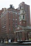 教会在公园av 库存图片