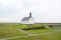 教会在冰岛 免版税库存照片