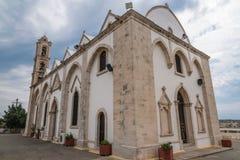 教会在南塞浦路斯 免版税图库摄影