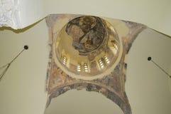 教会在古老集市 免版税库存图片