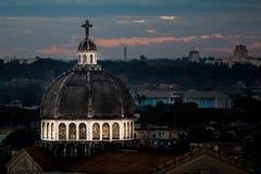 教会在哈瓦那 库存图片