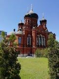 教会在图拉克里姆林宫 库存图片