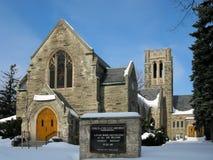 教会在基奇纳,加拿大 免版税库存照片