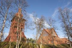 教会在基律纳 免版税库存照片