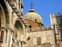教会在威尼斯 免版税库存照片