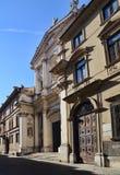 教会在威岑扎,意大利 免版税库存照片