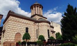 教会在布加勒斯特,罗马尼亚 免版税库存照片