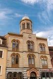 教会在布拉索夫,特兰西瓦尼亚,欧洲 库存图片