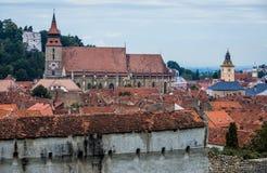 教会在布拉索夫 库存图片