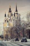 教会在托木斯克 图库摄影