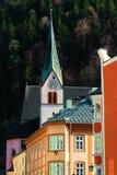 教会在拉滕贝格在蒂罗尔 免版税图库摄影