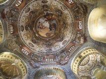 教会在拉韦纳意大利 库存图片