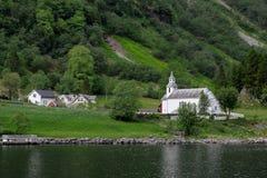 教会在挪威 库存照片
