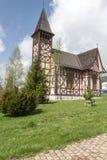教会在斯洛伐克, Stary Smokovec 图库摄影