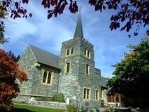 教会在新西兰 免版税库存照片
