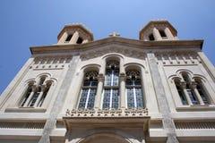 教会在杜布罗夫尼克市 库存照片