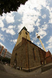 教会在柏林,德国 库存照片