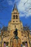 教会在梅茨 库存照片