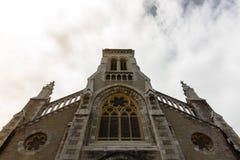 教会在比亚利兹 免版税库存图片