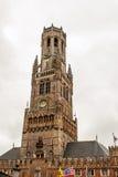 教会在比利时富兰德市布鲁日 免版税库存照片
