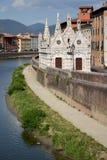 教会在比萨,意大利 免版税库存照片