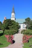 教会在汉科 免版税库存照片