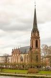 教会在法兰克福 库存图片