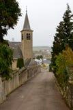 教会在申根,卢森堡 库存照片