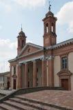 教会在科马基奥 免版税库存照片
