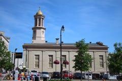 教会在纳稀威 免版税库存照片