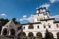教会在莫斯科 免版税库存图片