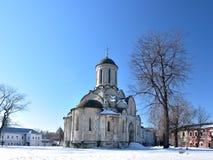 教会在莫斯科 库存照片