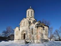 教会在莫斯科 免版税图库摄影