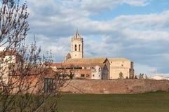 教会在西班牙 免版税图库摄影