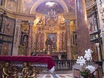 教会在都灵意大利 免版税图库摄影