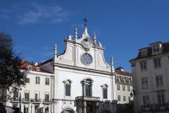 教会在里斯本 免版税图库摄影