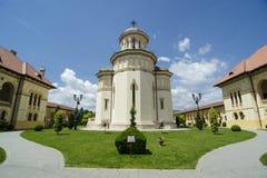 教会在阿尔巴尤利亚 免版税库存照片