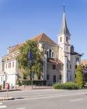 教会在阿讷西 免版税库存图片