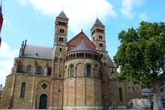 教会在马斯特里赫特,荷兰 免版税库存照片