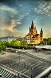 教会在维也纳 图库摄影