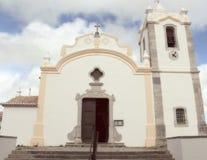 教会在维拉做Bispo,阿尔加威,葡萄牙 免版税图库摄影