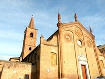 教会在费拉拉,意大利 免版税库存图片