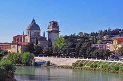 教会在维罗纳,意大利 免版税库存照片