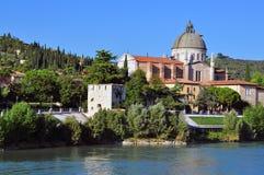 教会在维罗纳 免版税库存图片