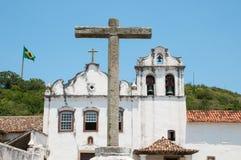 教会在巴西 免版税库存图片