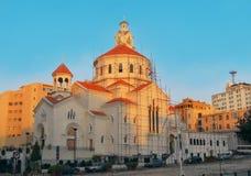 教会在贝鲁特 免版税图库摄影
