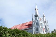 教会在索龙 免版税库存图片