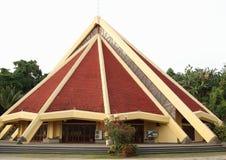 教会在索龙 免版税库存照片