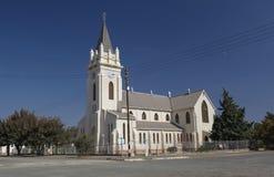 教会在Britstown 免版税库存图片